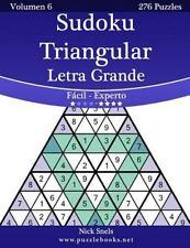 Sudoku Triangular: Sudoku Triangular Impresiones con Letra Grande - de Fácil...
