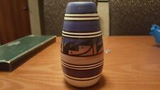 "Navajo small  6"" Pottery Vase signed M.Yazzie"