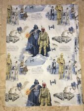POTTERY BARN KIDS Retired STAR WARS Twin Duvet Cover Empire Strikes Back Vader