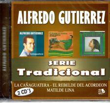 Alfredo Gutierrez Serie Tradicional (2 CDS SET-34 Temas)   BRAND  NEW SEALED CD