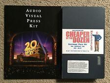 Cheaper By The Dozen, Audio Visual Press Kit- Fox, 2003, RARE with BETACAM Duff