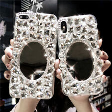 Crystals Mirror, Bling Sparkle Gems Phone Case Cover for Various iphone