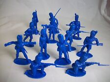 TIMPO Napoleonic French Grenadiers toy soldiers 1/32 (Blue)