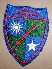 WW2 ERA US ARMY MERRILLS MARAUDERS INSIGNIA PATCH