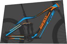 GIANT Trance Advanced 2014-2016 Frame Sticker / Decal Set
