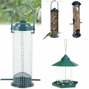 Wild Bird Garden Outdoor Feeding Holder Durable Feeder Hanging Hanger Container
