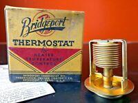 Vintage Thermostat NOS Bridgeport Adjustable #12 180 Fulton Ford Crosley 1937-49