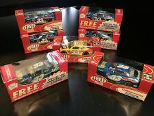 NASCAR CVS Pharmacy Bayer Promo 1:64 Diecast Car Lot of 7 Team Cailber New