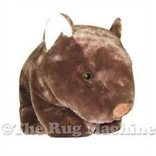 Dinki Di Cuddles Brown Wombat Soft Animal Plush Toy 41cm