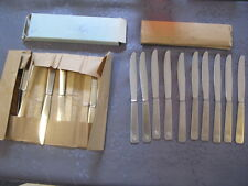 AIR FRANCE 30 COUTEAUX INOX ANNEES 1950 NEUF