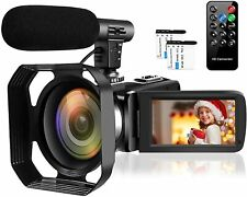 Video Camera Camcorder Full HD 1080P 30FPS 24MP Vlogging Camera for YouTube 16X