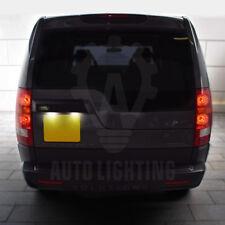 LAND Rover Discovery 3 4 2004-2016 Bianco LED NUMERO TARGA LAMPADINE * vendita *