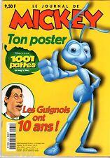 LE JOURNAL DE MICKEY n°2435 ¤ 1999 ¤ AVEC LE POSTER 1001 PATTES
