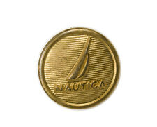 Org Nautica Metal Gold Color Replacement pocket sleeve button .60""