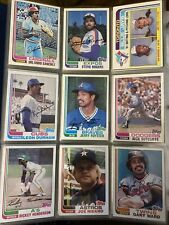 1982 TOPPS Baseball Cards.  Card # 601-792.  You Pick to Complete Your Set.