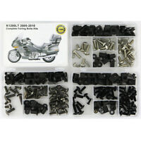 Steel Complete Fairing Bolts Fasteners Kit Fit For 2007-2012 BMW F800ST Silver