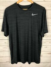 Nike Men's Heathered Gray Dri-Fit Touch Pro Training S/S Fitness Top X-Large Xl