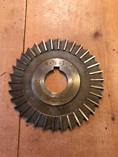 "SLAB/GEAR MILLING CUTTER 4"" x 1"" HSS MILLING MACHINE ENGINEERS TOOLING (CT19)"