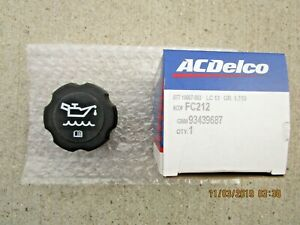 GM GMC 93439687 ACDELCO FC212 FC-212 ENGINE OIL FILLER FLUID CAP OEM BRAND NEW