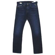 REPLAY Herren Jeans Hose WAITOM Straight Slim M 93 darkblue blau 18435
