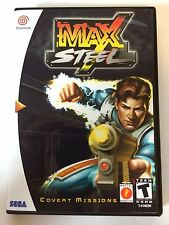 Max Steel - Sega Dreamcast - Replacement Case - No Game