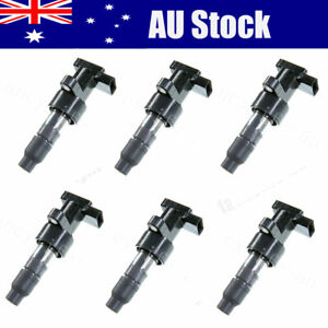6Pcs Ignition Coil For JAGUAR S-Type X-Type For XF XJ 2.0 2.2 2.5 3.0 C2S11480