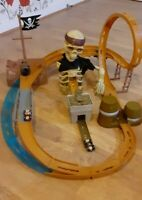 Disney Pirates of the Caribbean Car Race Track Playset