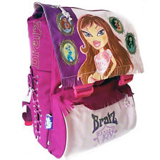 Zaino Trolley Bratz Fashion Giochi Preziosi Estensibile Rosa Elementari Bambine