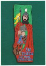 FIRE FIGHTING ST. FLORIAN PATRON SAINT OF FIREFIGHTERS POSTCARD 4