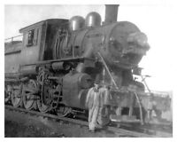 Lehigh Valley Railroad LVRR Steam Engine # 730 Engineer 8x10 Silver Halide Photo