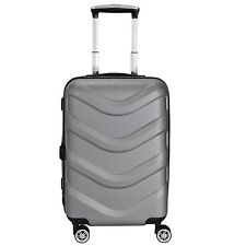 Stratic Arrow 4-Rollen KabinenTrolley Koffer Reisekoffer 55 cm (silvercolored)