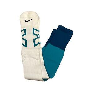 NFL NIKE Team Game Issued Compression Socks Philadelphia Eagle Colors New Sz XXL