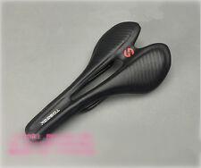 Ultralight Road Bike Racing Saddle Seat Carbon+Leather MTB Bicycle Saddle