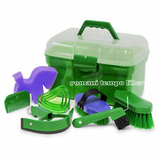 Set For Cleaning of The Horse Or Pony With Top Case Complete Accessories