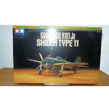 Tamiya 1/72 Kawanishi N1K1-Ja Shiden Type 11 Model Aircraft Plane KIt #60768