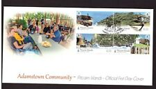 Pitcairn Islands 2016 FDC Adamstown Community stamps  cover