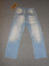 215 90 jeel Pantalones Vaqueros De Hombre W 31L 32 azul claro vintage denim