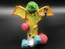 Mary Engelbreit Letter Y Me 1999 Flowers Yo-yos Yarn Figurine