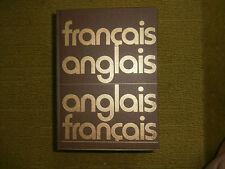 GRAND DICTIONNAIRE FRANCAIS ANGLAIS CLIFTON LAUGHLIN 596 PAGES