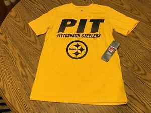 Pittsburgh Steelers NFL Boys Hometown Short Sleeve Tee Size XS (4/5) - NWT