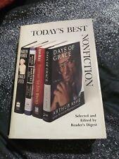 Today's Best Nonfiction Readers Digest 4 Stories 1990's HB DJ