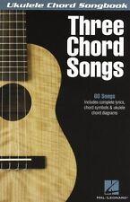 Ukelele Chord Cancionero: tres Chord Canciones