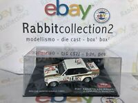 "DIE CAST "" FIAT ABARTH 131 RALLY RALLYE MONTE CARLO 1981 D. CERRATO "" SCALA 1/43"