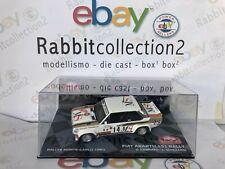 """DIE CAST """" FIAT ABARTH 131 RALLY RALLYE MONTE CARLO 1981 D. CERRATO """" SCALA 1/43"""