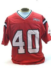 NEW Maryland Terps Mens M Medium College Red Football Jersey #40 Colosseum NCAA