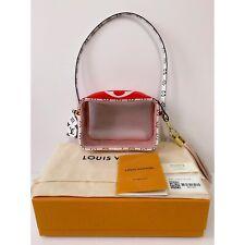 ❤️Louis Vuitton BEACH POUCH Monogram Giant Summer RED&PINK Belt bag Pochette