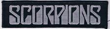 SCORPIONS Logo patch Accept Motley Crue Krokus Dio