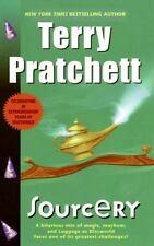 Discworld Novels: Sourcery by Terry Pratchett (2001, Paperback)