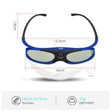 BOBLOV Active Shutter 3D Glasses DLP-Link 96Hz-144Hz For Sony Samsung Projector