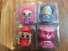 Mixed Lot of 4 Display Fashems Mashems Care Bear, DC, Barbie, Shimmer & Shine
